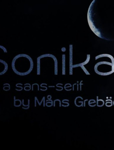 Sonika PERSONAL USE Font Family