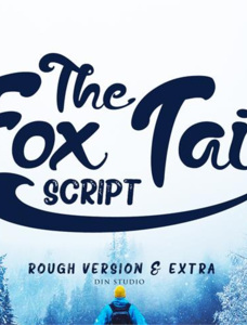 The Fox Tail Font Family
