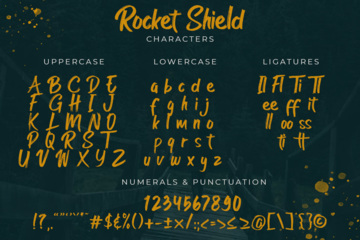 Rocket Shield Swashes
