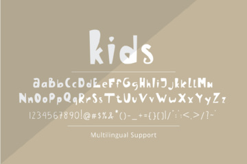 Kids - A Handwritten Fonts