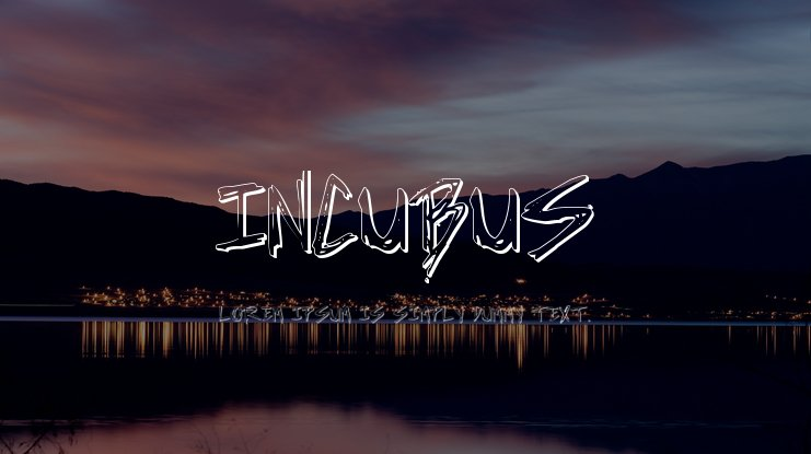 Incubus Font Family