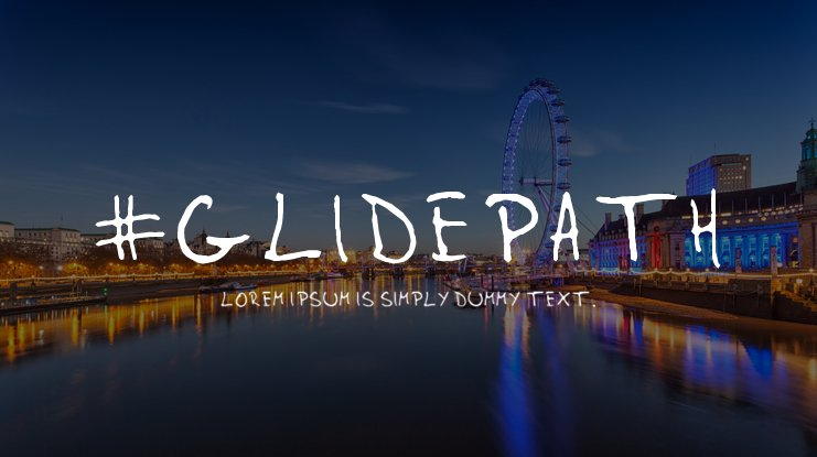 #Glidepath Font Family