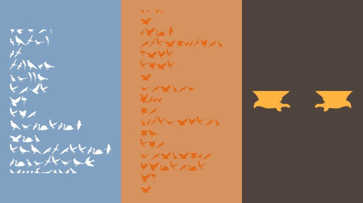 Birds of a Feather Font
