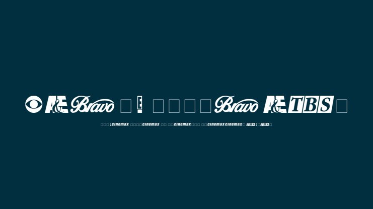 Cable Dingbats Font : Download Free for Desktop & Webfont