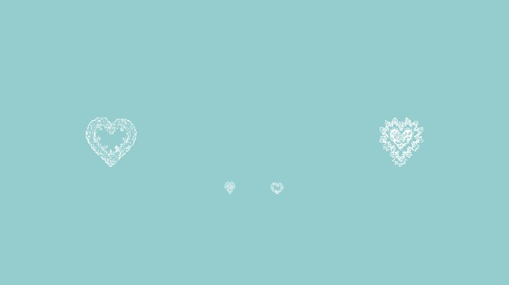 Hearts of Lime Font