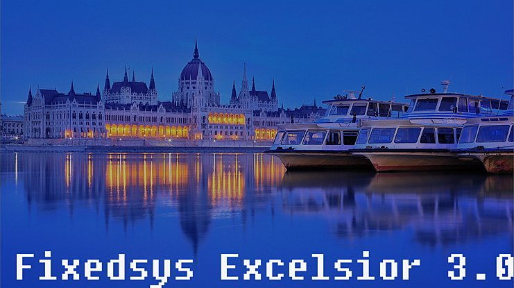 Fixedsys Excelsior 3.01