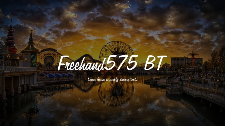 Freehand575 BT Font