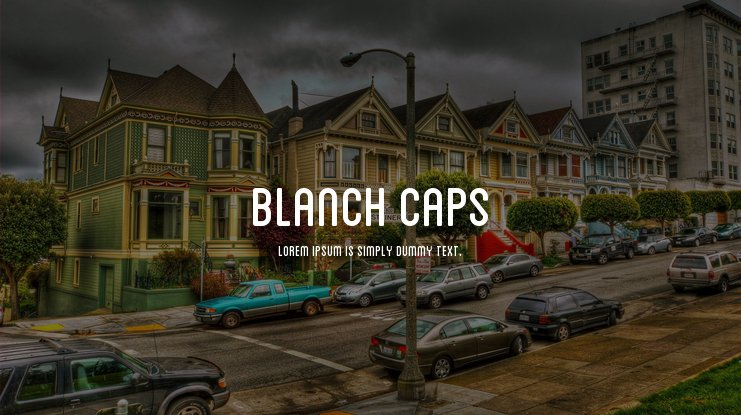 Blanch Caps font