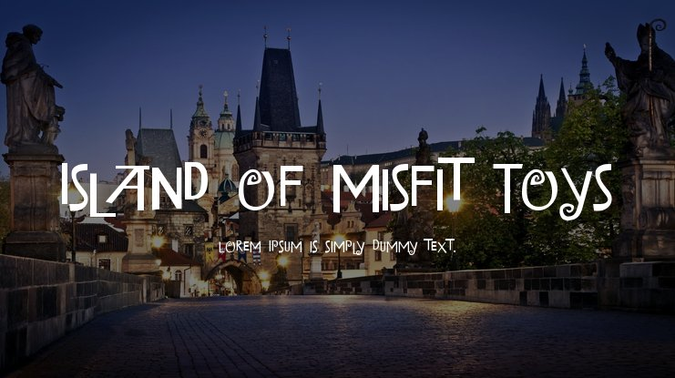 Island of Misfit Toys Font Family