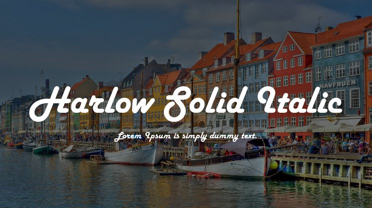Download harlow solid italic font free font download.