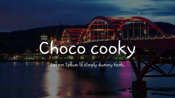 Choco cooky Font