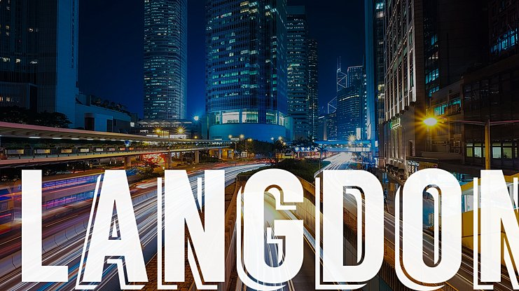 Langdon Font : Download Free for Desktop & Webfont