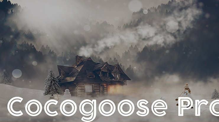 Cocogoose Pro Font Family