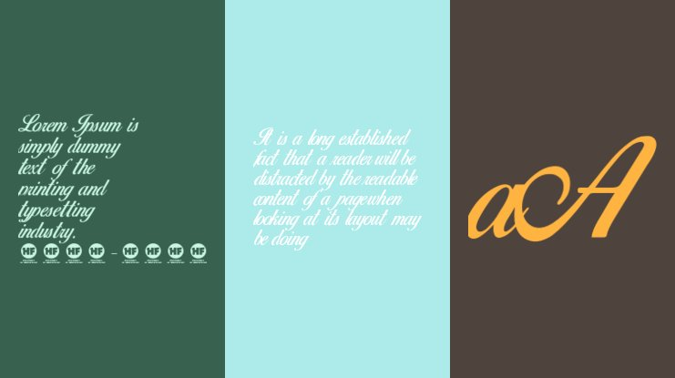 Birds of Paradise  Personal use Font
