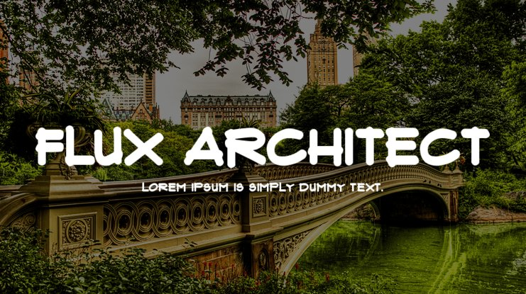 Flux Architect font