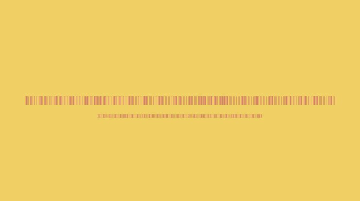 Libre Barcode 39 Extended Font