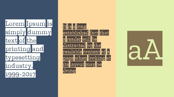 Zilla Slab Highlight Font Family