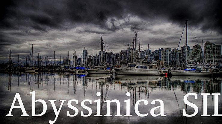 Abyssinica SIL Font