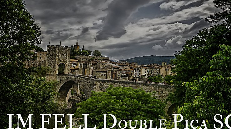 IM FELL Double Pica SC Font