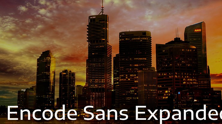 Encode Sans Expanded Font Family