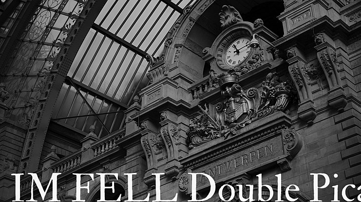 IM FELL Double Pica Font Family