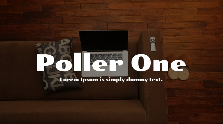 Poller One Font