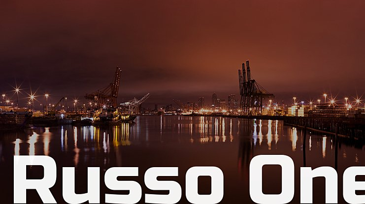 Russo One Font