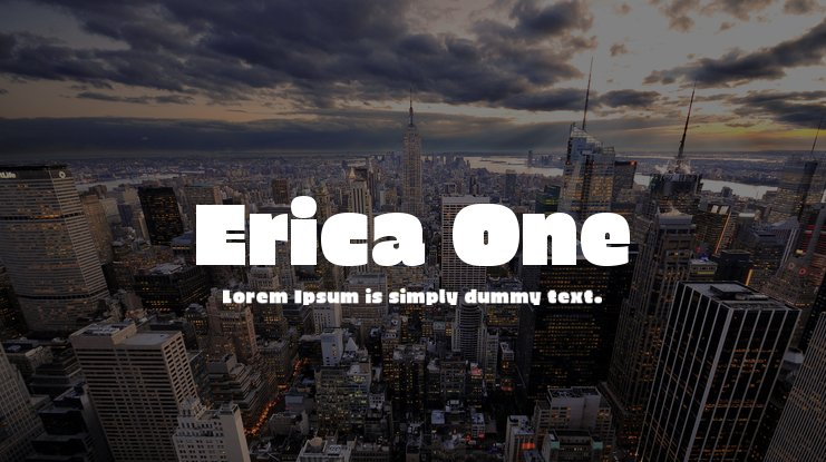 Erica One Font
