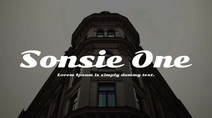Sonsie One Font