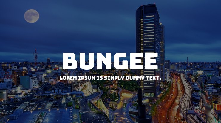 Bungee Font