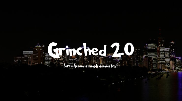 Grinched 2.0 Font