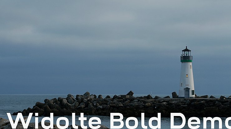 Widolte Bold Demo Font Family