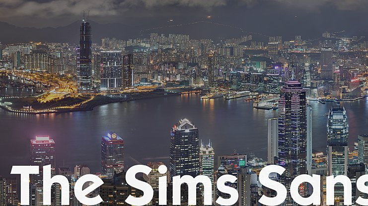 The Sims Sans Font Family