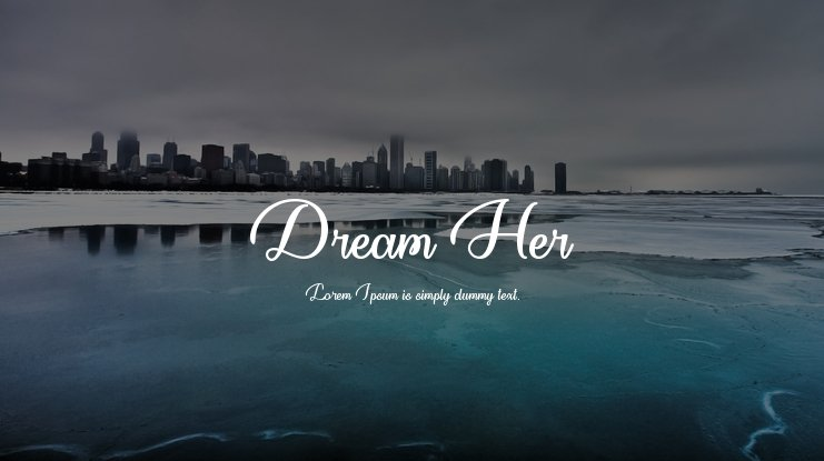 Dream Her Font