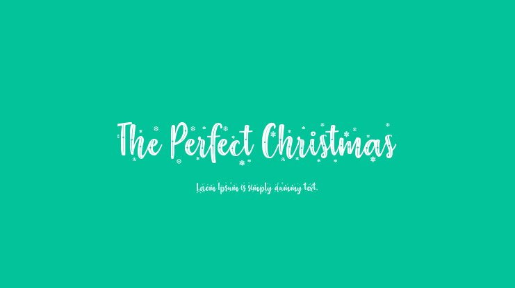 The Perfect Christmas