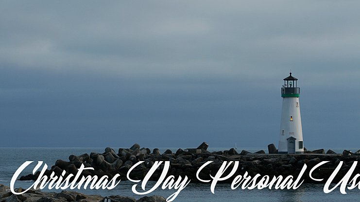 Christmas Day Personal Use Font : Download Free for Desktop & Webfont