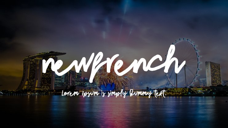 newfrench Font Family