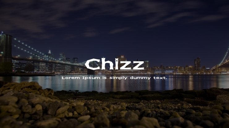 Chizz Font Family