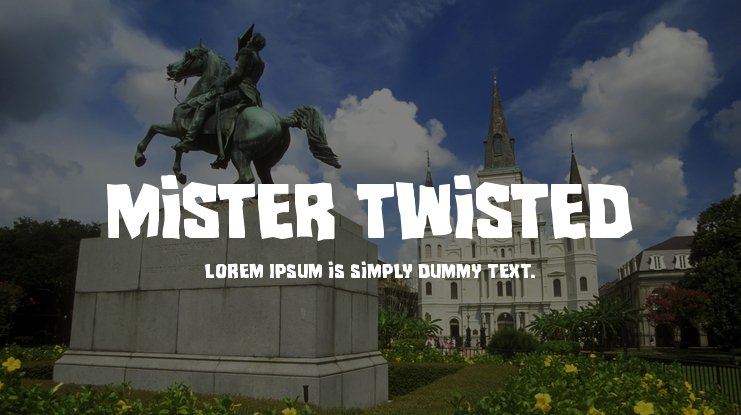 Mister Twisted Font Family