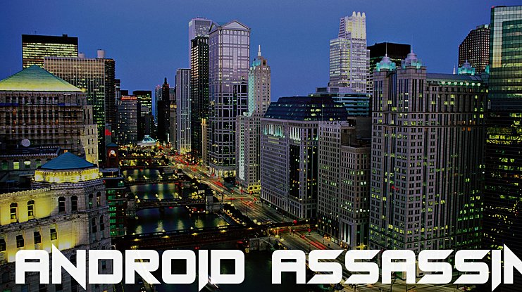 Android Assassin Font Family