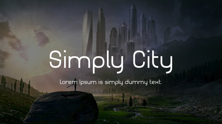 Simply City Font Family