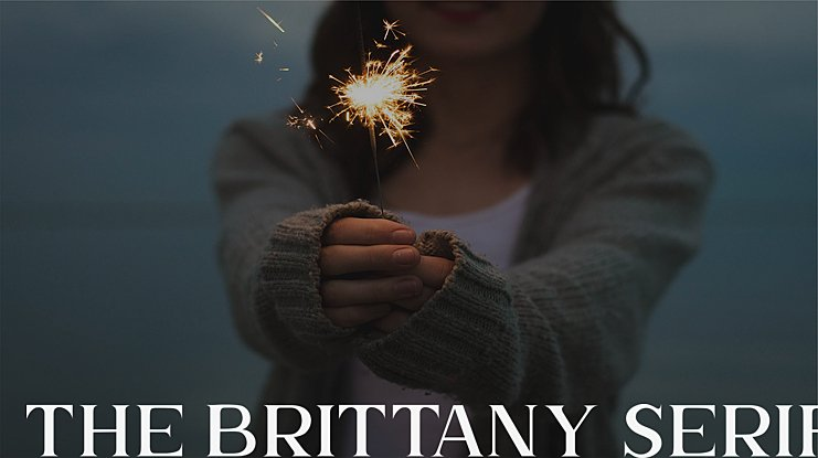The Brittany Serif 2 Font Family