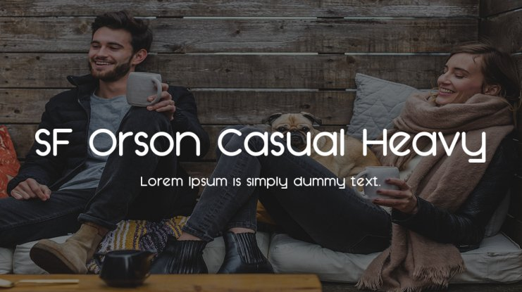 SF Orson Casual Heavy Font Family