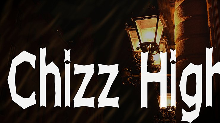 Chizz High Font Family