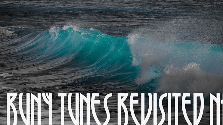 Runy Tunes Revisited NF Font