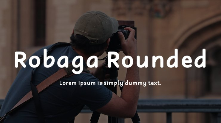 Robaga Rounded Font Family
