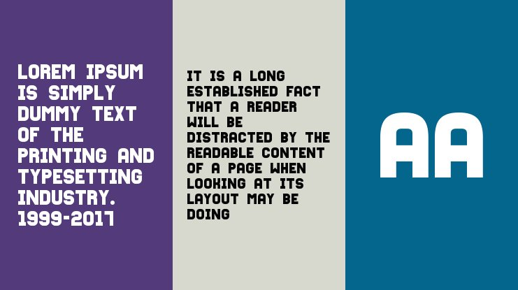 Fixation Font Family