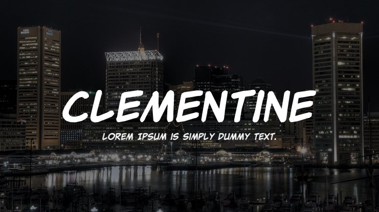 Clementine Font Family