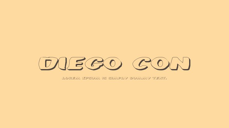 Diego Con Font Family