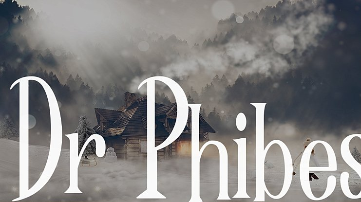 Dr Phibes Font Family